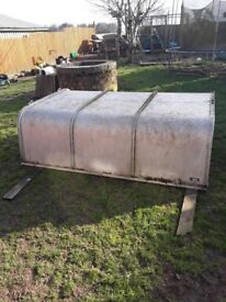 Ifor williams canopy off toyota hilux single cab good condition