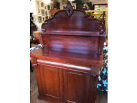 Victorian Sideboard , Must be seen ..... In good condition . Free Local Delivery.