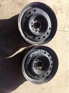 """2 - Nissan Altima OEM 16"""" Steel Rims"""
