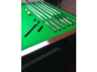 Kinver snooker cues top quality take a look selling fast
