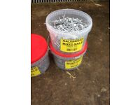 5kg galvanised mixed nails