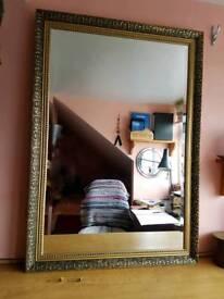 Antique Wall Mirror.