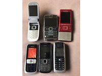 Nokia's phones joblot