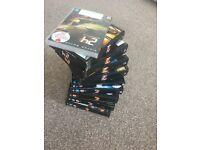 Complete set of 24 DVDs