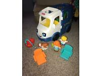 Fisher price little people camper van