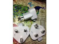 Genuine Apple 3-Pin UK Model607-6315/2-Pin EU Model A1561 Wall Plug for iPad MacBook Magsafe Charger