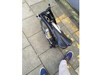 Brompton M3L black folding bike