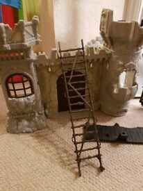 Childrens Toy Castle and Accesories