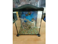 Fish tank. Marina Pirates 17 litres. EXCELLENT CONDITION