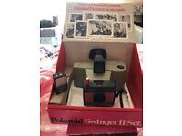 Polaroid swinger 11 vintage
