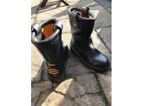2 pairs Dewalt Rigger boots