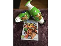 Wii Toy Story Mania game with 2 x Guns