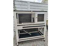 Indoor Rabbit / Guinea Pig Hutch Two Storey