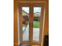 Upvc Double Glased French doors and matching window