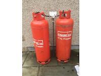 Propane gas tanks 47kg