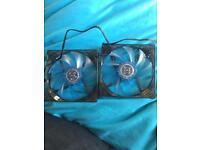 120mm Blue LED pc fans