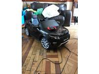 Kids remote controlled Electric Range Rover Evoque