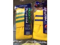 Football socks adults x 6 size 7-12