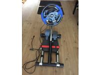 Thrustmaster T150 Racing Wheel & stand. For PS3/PS4/PC. Not used much