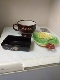 Dishes x 3 (assorted) walthamstow
