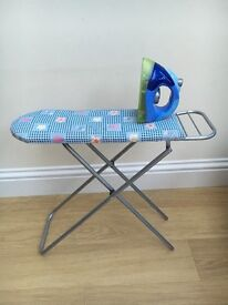 Toy ironing board & iron