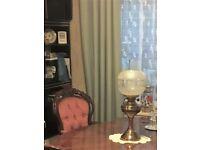 Table lamp. Vase