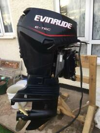 Evinrude 50hp e-tec sell/swap for outboard