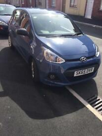 2015 Hyundai i10 998cc 1 litre, cat s d fully repaired