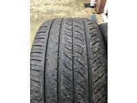 BMW X5 tyres (full matching set)
