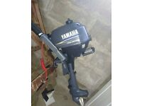 Yamaha 2.5HP four stroke outboard motor