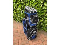 Longbridge 14 way divider golf trolley bag.