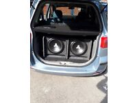 JL audio car subwoofer x 1 not pioneer, alpine, kicker, vibe, kenwood
