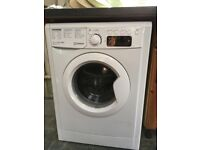 White Indesit washing machine 8kg , 1400 rpm A++ rated