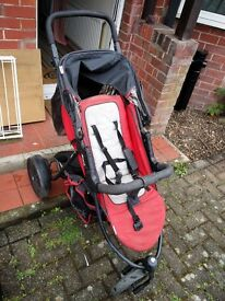 Hauck 2 child Travel system