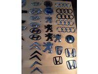 Genuine car badges