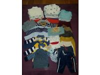 Baby boy clothes 0-3 m