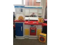 Little Tikes Kitchen and Accessories Good Condition