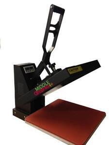 "15x15"" Heat Press (Flat) with Teflon-coated heat element   Brand New!!!"