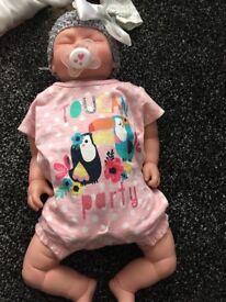 Reborn girl doll