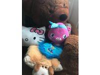 Free giant teddy, girls teddy's peppa pig blanket