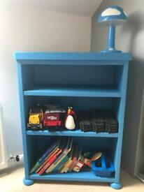 Ikea boys bookcase and table *reduced