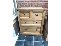 Rio 4 Drawers Chest