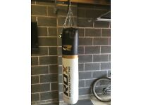 Punch Boxing Bag 5ft and bracket