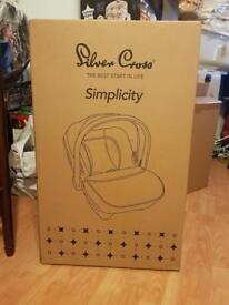 Silver Cross Simplicity Car Seat BNIB