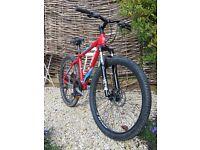 Trek 3500 mountain bike 2015 16 inch frame 26 inch wheels