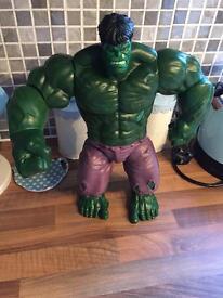 """Marvel 14"""" talking hulk figure"""