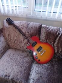Epiphone les paul speciall II left handed guitar electric guitar & AMP amplifier cheap!!
