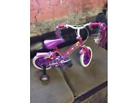 Zinc Cupcake little girls bicycle