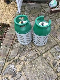Gas bottles for sale