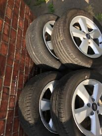 FORD ALLOY WHEELS AND TIRES 16Inch